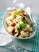 Artichoke and tomato risotto
