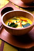 Vegetable and coconut milk curried soup