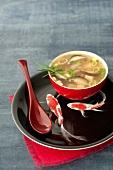 Cep miso soup