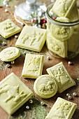 Christmas Absinthe cookies