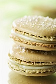 Fir tree liqueur macaroons