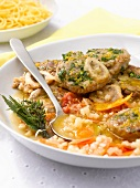 Osso-bucco with vegetables