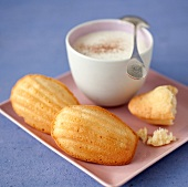 Vanilla-flavored mini Madeleines