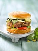 Provenzalischer Hamburger