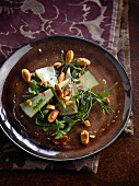 Manchego and almond salad