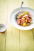 Kirschtomatensalat mit Pute