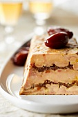 Breton duck foie gras and date terrine