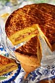 Breton pear cake