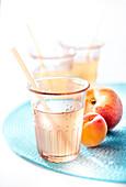 Peach-apricot lemonade