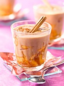 Caramelized apple and Spéculoos biscuit cream Verrine