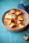 Jerusalem artichoke crisps