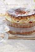 Candied fruit soufflé