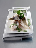 John Dory en Saumurade, hollandaise sauce with watercress