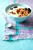 Fromage blanc with summer fruit and Granola