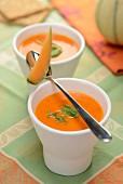 Cold melon soup