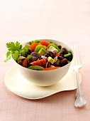 Cubain red kidney bean mixed salad