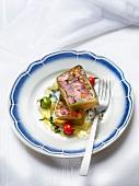 Alsation pork head-cheese pâté