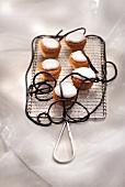 Licorice cupcakes