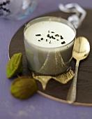 Green tea iced Parfait