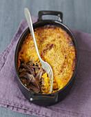 Duck confit and sweet potato cottage pie