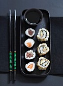 Assorted makis