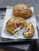 Chevrotin flaky pastry pies