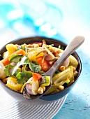 Gemüse-Tajine mit Safran