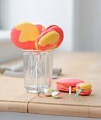 Arlequin candy pops