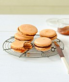Salted butter toffee macaroons