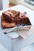 Chocolate-pecan brownies