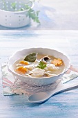 Fish and carrot soup