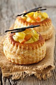 Stewed fruit Vol-au-vents