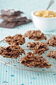 Chocolate cornflake cookies