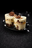 Express Vacherin with candied chestnuts