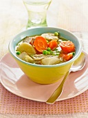Simmered vegetables and tofu
