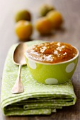 Greengage plum jam