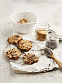 Anti-hunger muesli cookies