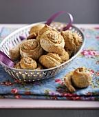 Nori seeweed rolled cookies