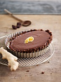 Chocolate-ginger pie