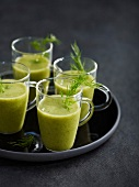 Cucumber, dill and mint juice