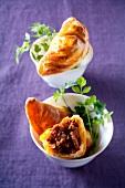 Beef empanadas with chorizo