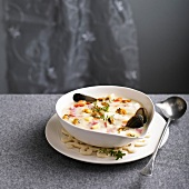 Shellfish chowder