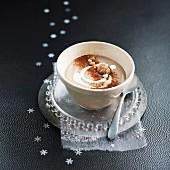 Kastaniencremesuppe mit Kakao