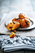 Chorizo and olive mini savoury cakes