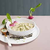 Turnip puree with chives