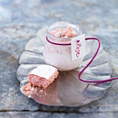 Pink yoghurt