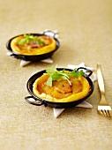 Mini-Apfeltörtchen mit Foie Gras