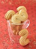 Sprits, German biscuits