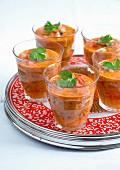 Gazpacho mit Koriander