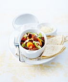 Chili con carne-style beef stew